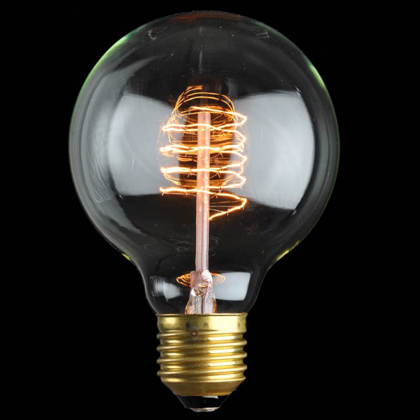 Large Clear Globe Light Bulbs