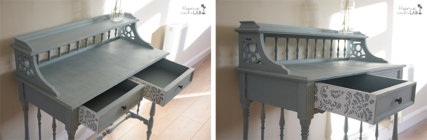 Makeover consola chalk paint