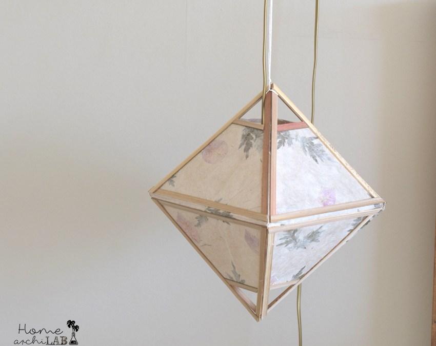 DIY Lámparas colgantes: de Myanmar a mi dormitorio Cómo incorporar recuerdos de viajes a la decoración de tu casa
