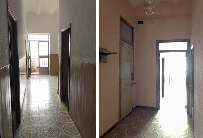 Antes y después reforma piso