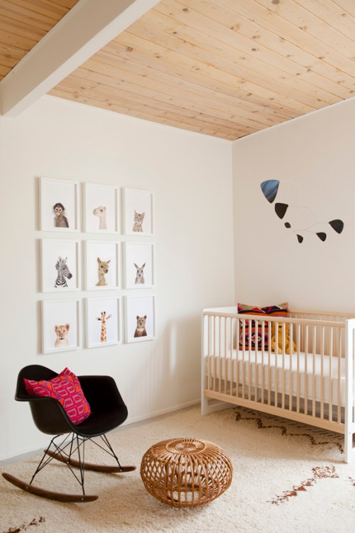 decoracion pared bebe