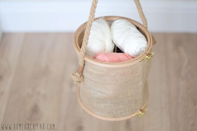 cesta de costura