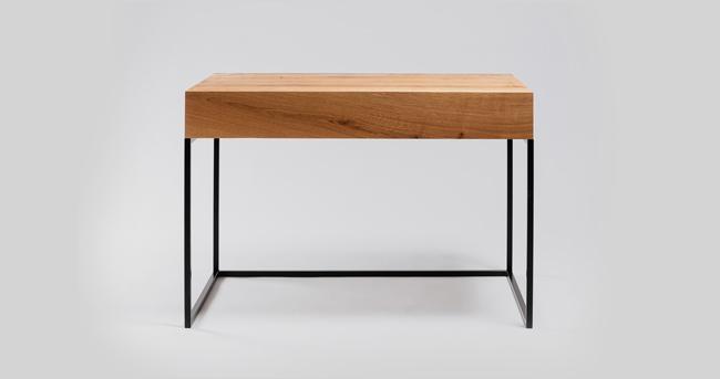 muebles madera y hierro
