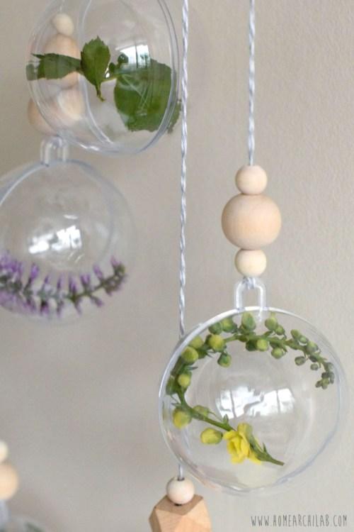 bolas de navidad transparentes