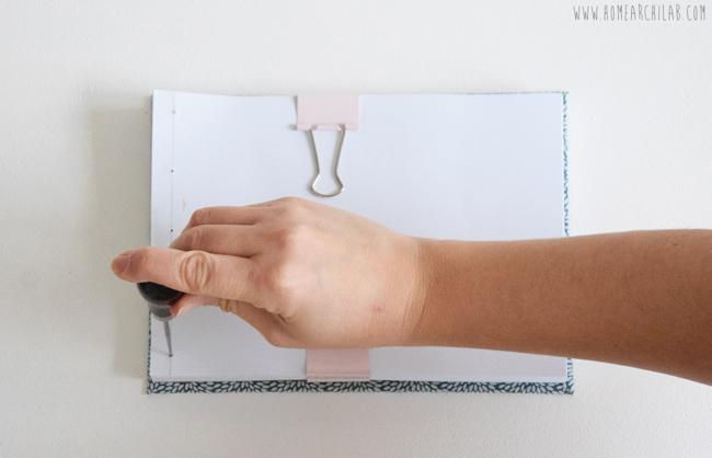 tutorial de encuadernacion japonesa