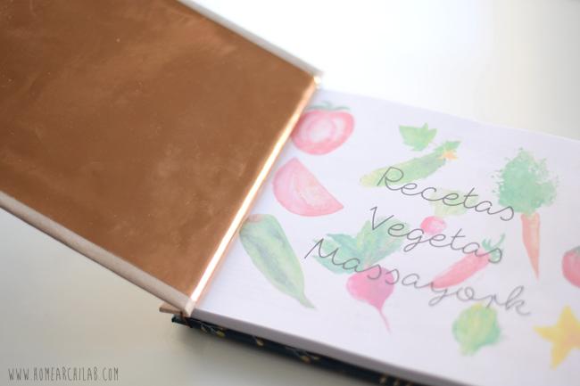 libro recetas scrapbooking