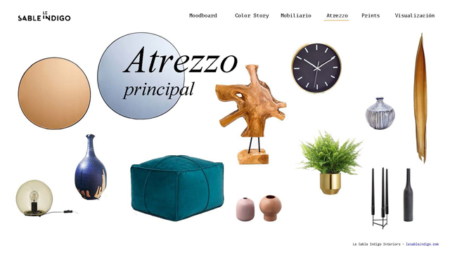 proyecto decoración online