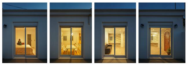REFORMA DE ÁTICO EN VALENCIA CENTRO El aprovechamiento de cada rincón y la gran terraza son el centro de este proyecto