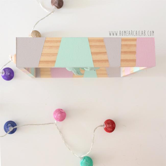 diy marco decorativo con pajaritos