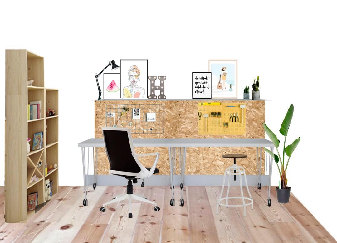 mi oficina en casa