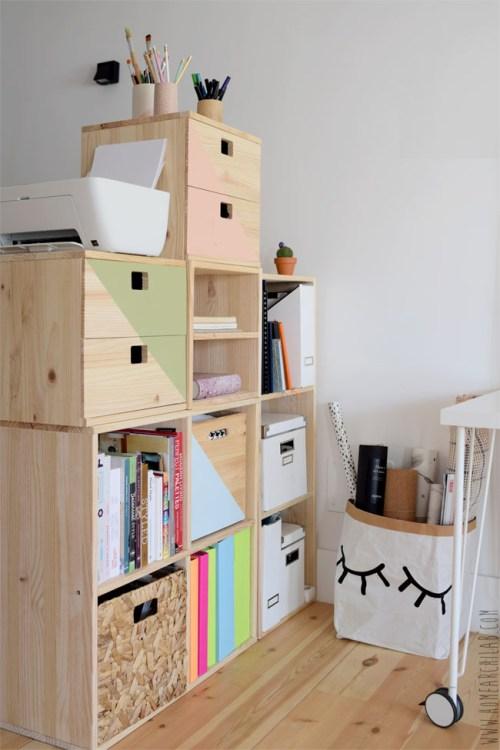 estantería modular