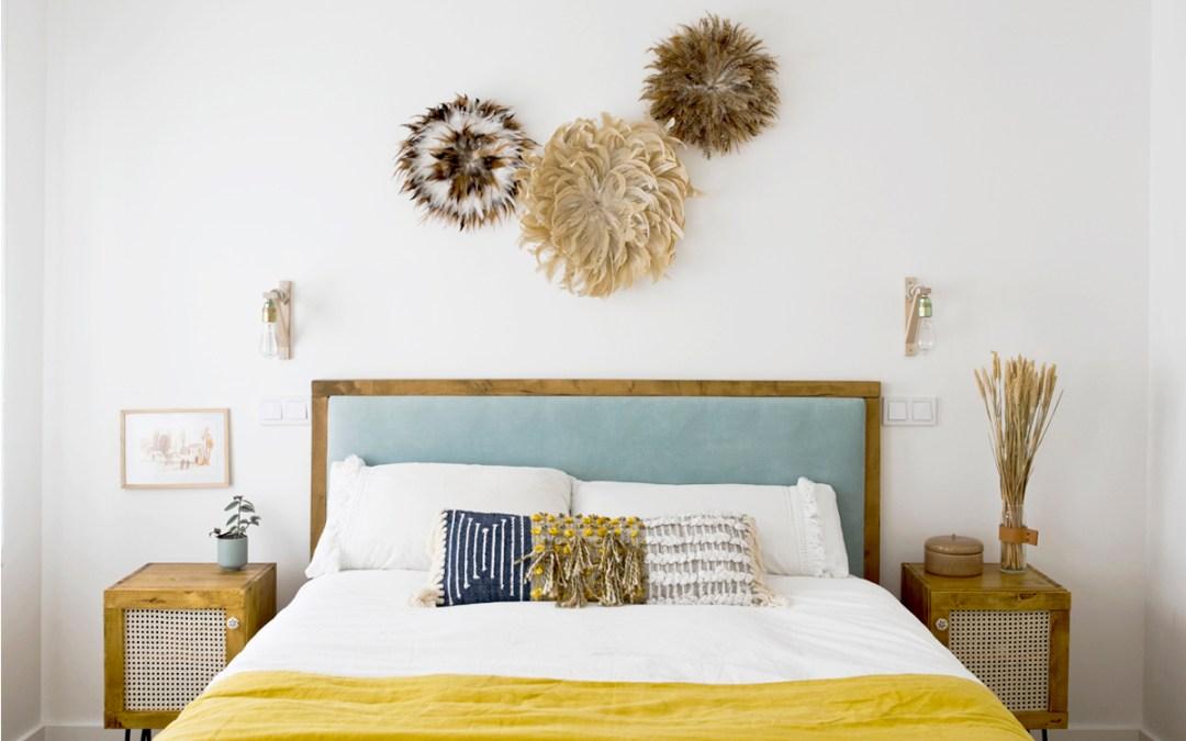 LA DECORACION DIY DE MI DORMITORIO Desde los muebles hasta el Juju Hat de la pared del cabecero paso a paso