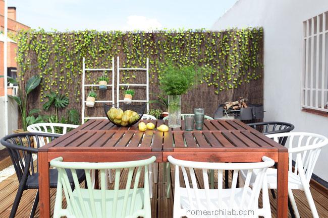house tour atico en Madrid con terraza