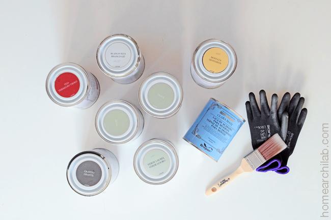 armario vintage diy con pintura a la tiza