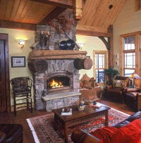Fireplaces and Hearth Rooms   Mountain Home Architects ...