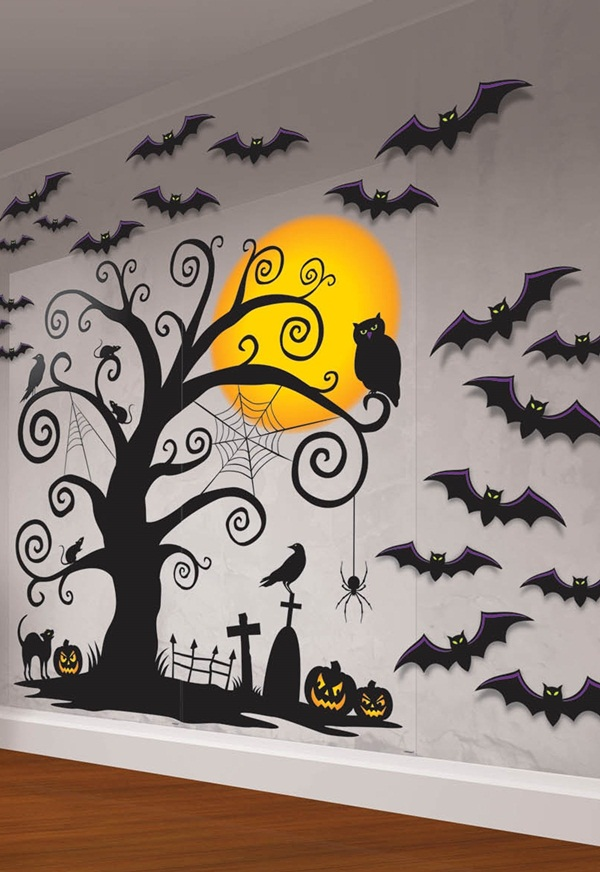 Conjure up a halloween party that draws on autumn's natural splendor, punctuated with spooky touches. 80 Cool Halloween Indoor And Outdoor Decoration Ideas