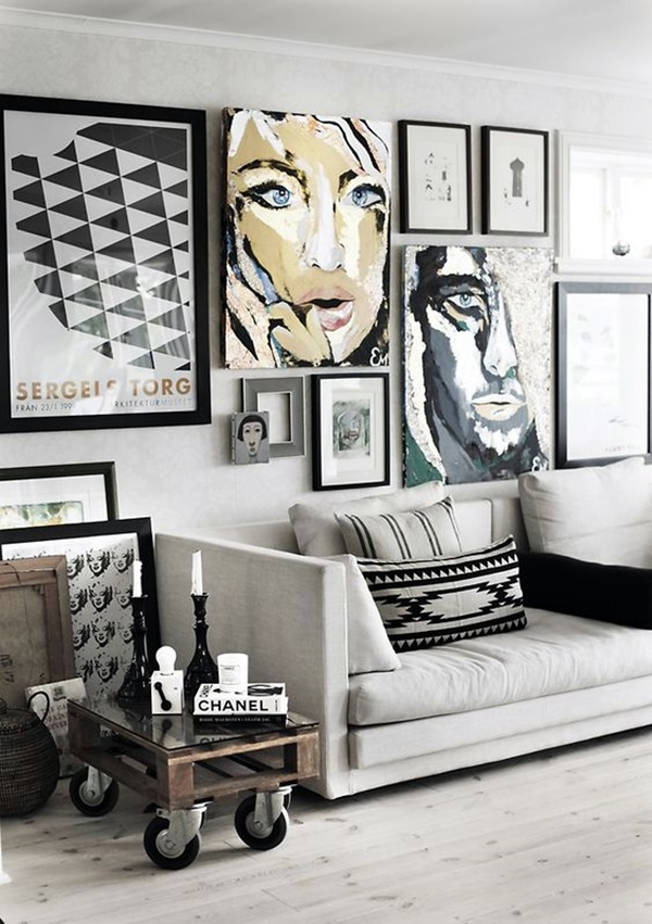 80 Attractive Diy Wall Art Ideas For Living Room