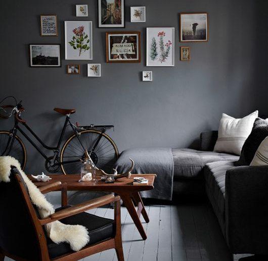 Witte zwarte of grijze muren  HOMEASE