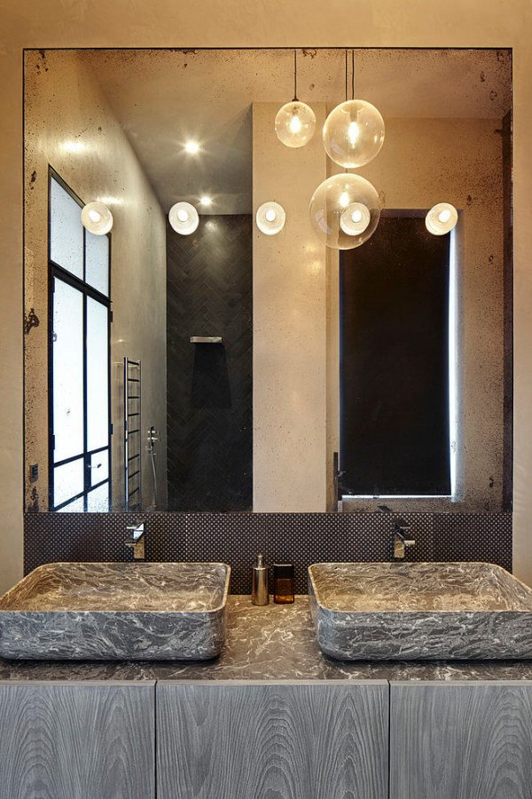 Stoere luxe badkamer  HOMEASE