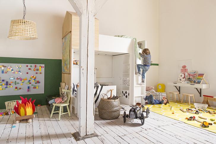 Inspiratie van IKEA voor een gedeelde kinderkamer  HOMEASE