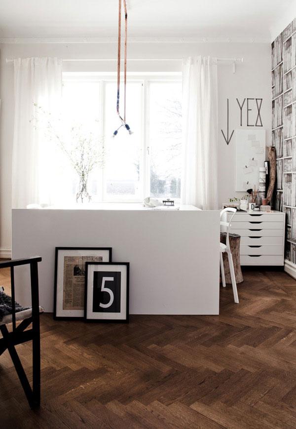 Visgraat houten vloer  HOMEASE