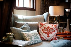 pillows and couch decor