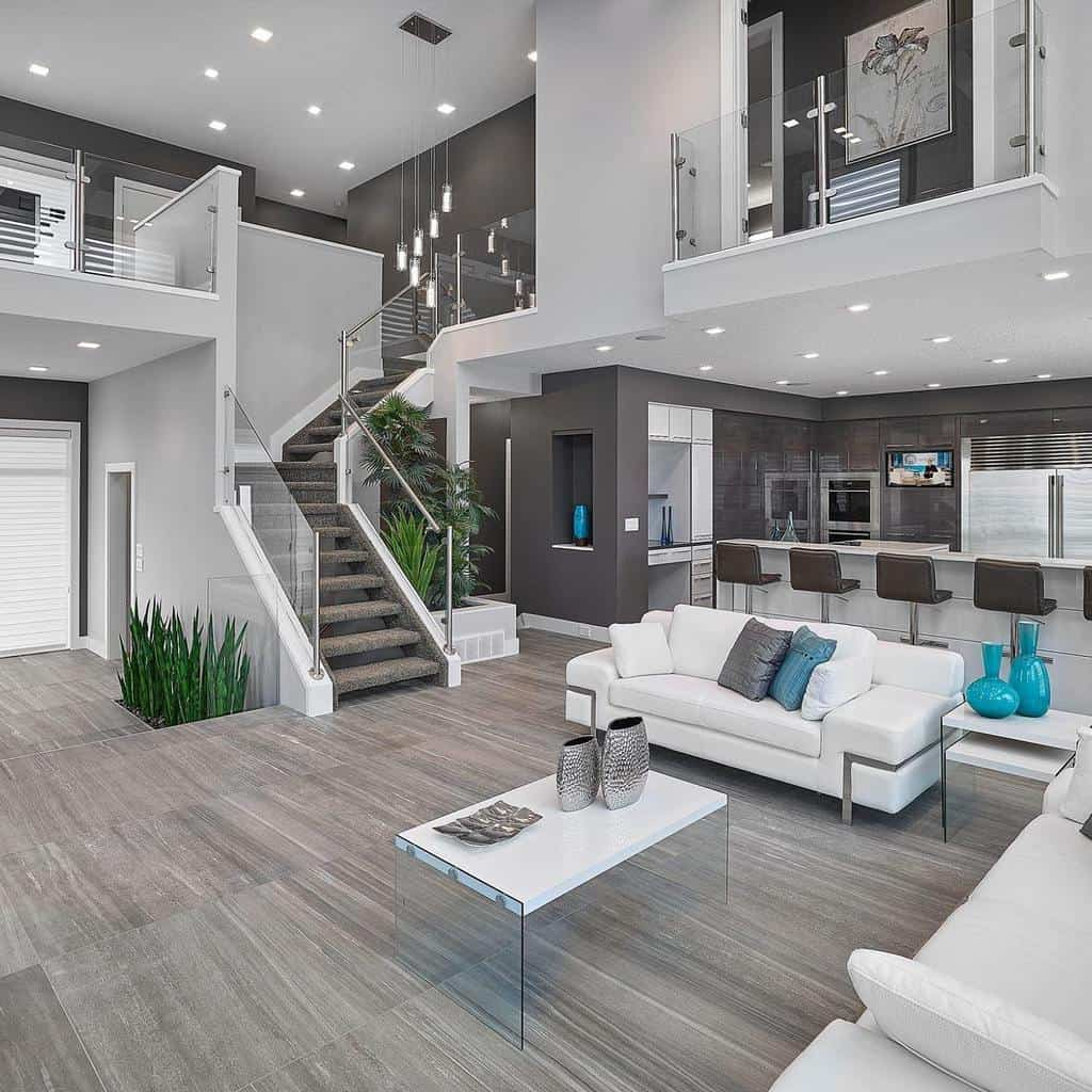 41 Contemporary Living Room Designs And Ideas Home Awakening