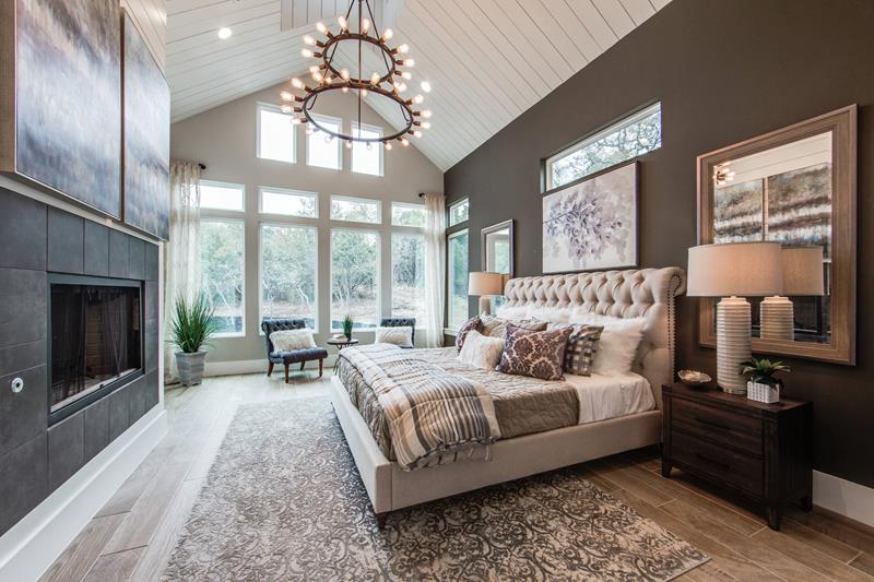 30 Master Bedroom Designs With Fireplaces Home Awakening