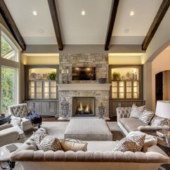 Living Room Fireplaces Blue Paint Colors For 25 Beautiful Rooms With Photo Gallery Fireplace