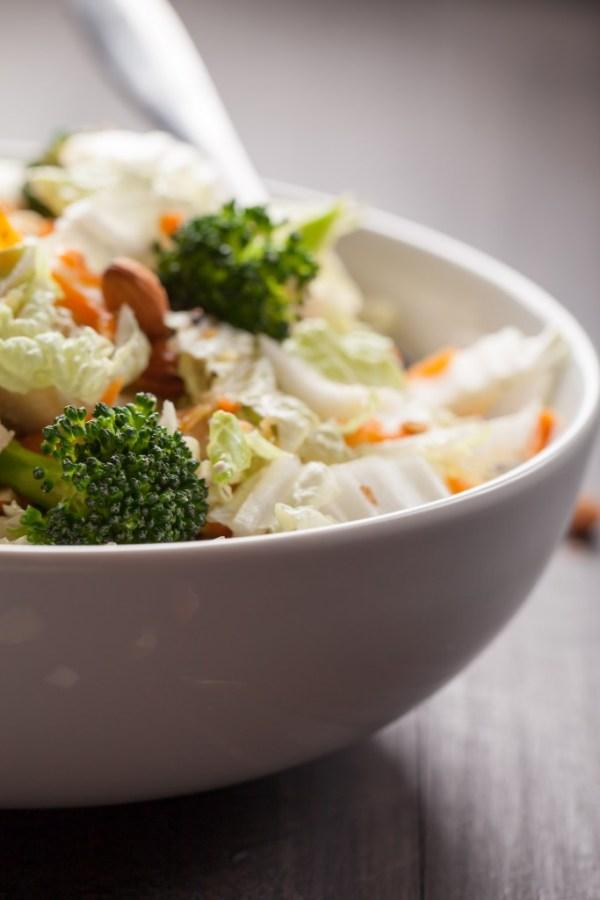 Asian Napa Cabbage Salad - great blend of sesame, napa cabbage, chicken and vegetables!