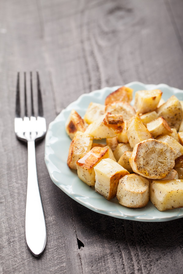 Roasted Sweet Potatoes and Parsnips