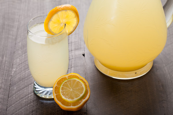 Making Lemonade - Fresh squeezed lemonade
