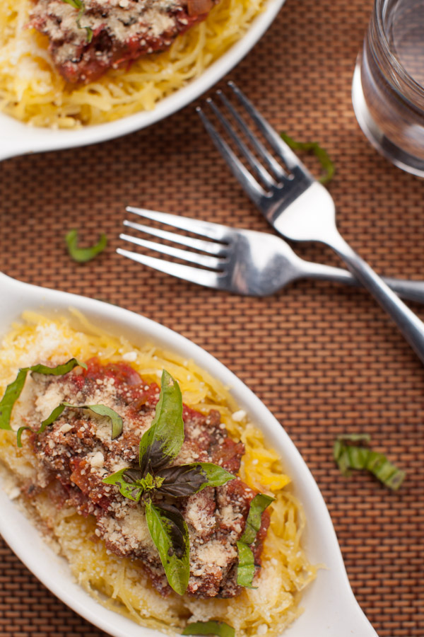 Spaghetti Squash meal