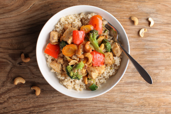 Chicken Cashew Stir-fry