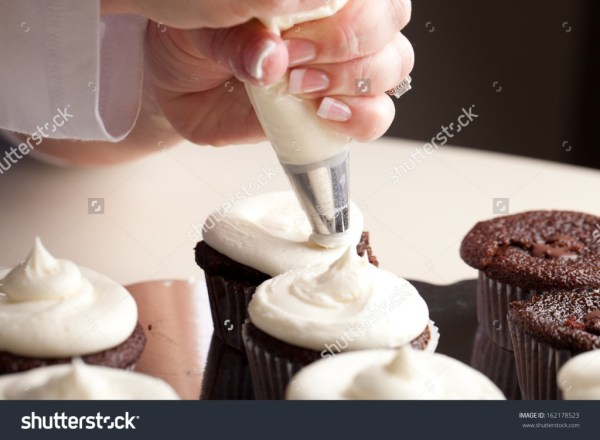 Chef decorating and piping buttercream icing - Income Report