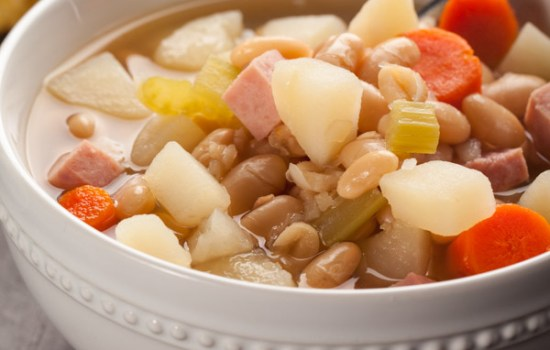 Ham Bean Vegetable Soup