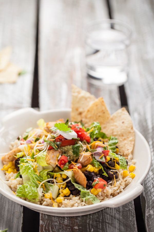 Chicken Taco Salad Supreme