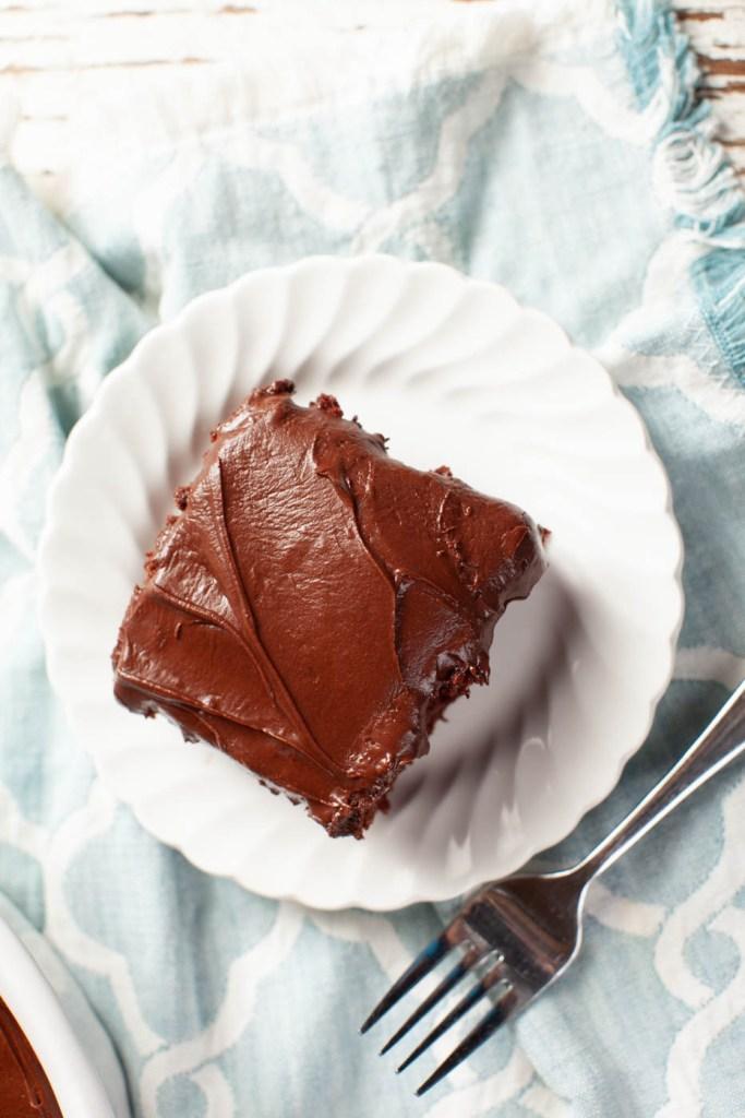 Moist and Heavenly Egg-free Chocolate Cake Recipe #homebakedjoy