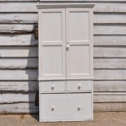 homebarn-Antique-linen-cupboard-with-drawers-white-2