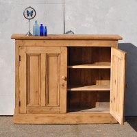 Reclaimed Pine Two Door Console Cabinet