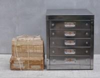 Vintage Industrial Steel Filing Cabinet 5 Drawer - Home ...