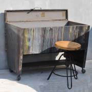 artists-studio-steel-wheeled-table-with-original-dribbling-paint-4
