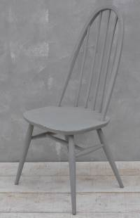 Painted Ercol Quaker chair - Home Barn Vintage