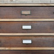 Salvaged Museum Collection Drawers Cabinet 24 Drawers