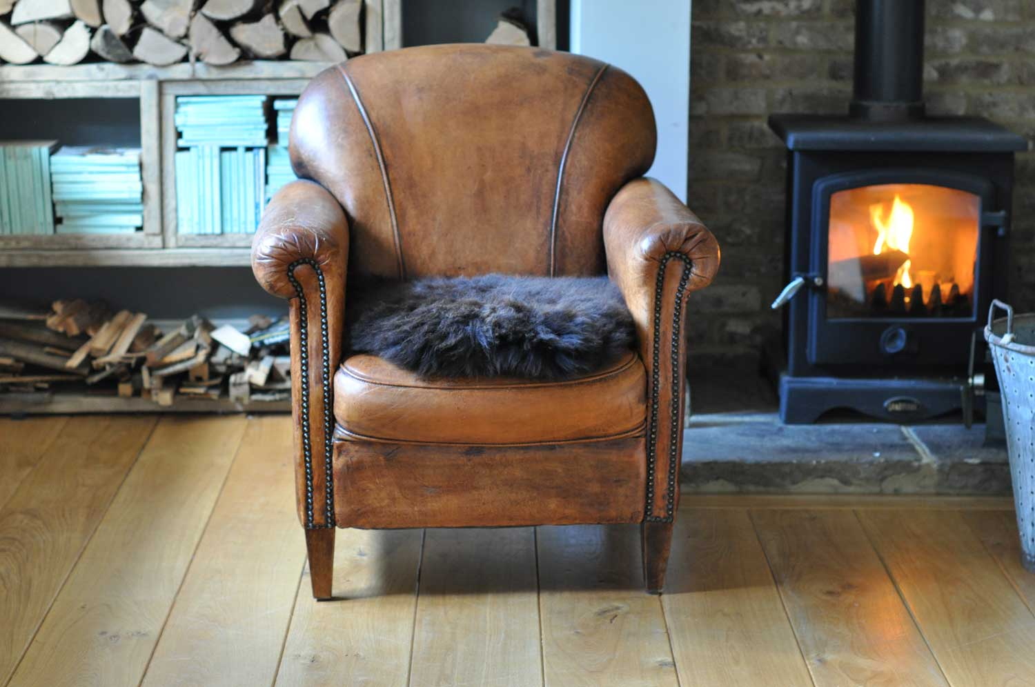 Rare Breed Sheepskin Throw or Rug Small