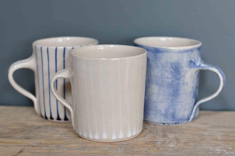Wonki Ware Hand Made Artisan Stoneware Mug