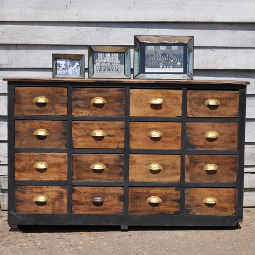 Vintage Apothecary Drawers  Industrial Style  Home Barn