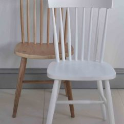 White X Back Chair Posture Care Adelaide Oxford Spindle Dining Painted Or