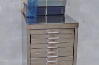 Vintage Industrial Steel Filing Cabinet 20 Drawer - Home ...