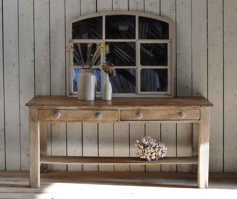 kitchen console restaurant flooring antique pine vintage island two drawer